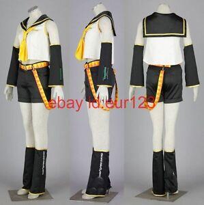 VOCALOID Kagamine Rin Cosplay Costume Custom