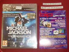 MICHAEL JACKSON THE EXPERIENCE PS3 PLAYSTATION 3 PAL ITA NUOVO SIGILLATO