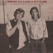 Townes Van Zandt & Guy Clark - Live At Great American Music Hall 1991 VINYL