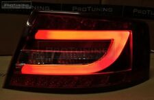 Audi A6 4F C6 04-08 LED Red Crystal Taillights tail Rear Light BACK Lamp s6 Limo
