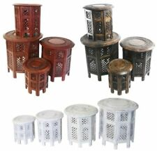 Wooden Traditional Nested Tables