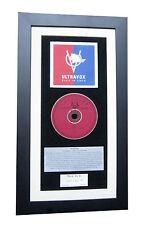 ULTRAVOX Rage In Eden CLASSIC CD Album GALLERY QUALITY FRAMED+FAST GLOBAL SHIP