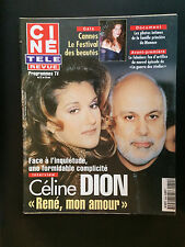 CINE REVUE 1999 N°20 celine dion jean lefebvre star wars cannes