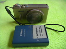 CANON POWERSHOT S100 12.1 MEGA PIXELS DIGITAL CAMERA SILVER MADE IN JAPAN