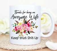 Awesome Wife Mug Funny Wife Mug Wife Anniversary Mug Wife Birthday Gift Awesome