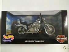 2000 Hot Wheels : Harley-Davidson Dyna Wide Glide 1:10 scale Motorcycle