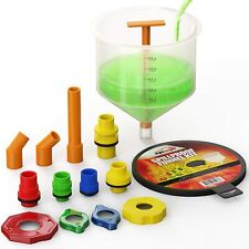 New Spill Free Funnel Kit Cooling System Fill Tools Car Vehicle Coolant Filling