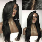 Brazilian Straight wig Heat Resistant Synthetic Lace Front Wig For Black Wome