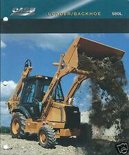 Equipment Brochure - Case - 580L - Loader Backhoe - 1995  (E2968)