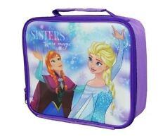 Frozen Lunch Bag Anna Elsa Sisters School Picnic Travel Hol Northern Light Magic