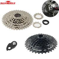 SunRace 8 Speed 11-40T MTB Bike Cassette Freewheel Adapter fit Shimano SRAM