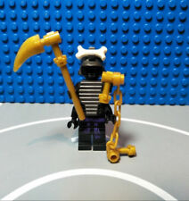 LEGO Ninjago Minifigure Lord Garmadon - 4 Arms with weapons from 9446 9450 Rare