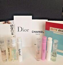Luxury Perfume Sample Lot CHANEL Dior Viktor & Rolf Versace Michael Kors & More