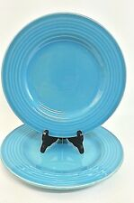 Pottery Barn Sausalito Ridge Blue 2 Dinner Plate 11""