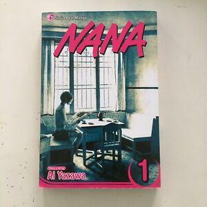 Nana vol. 1 english By Ai Yazawa, Shojo Beat Manga, Slightly Used Soft Cover