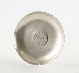 """Silber Schale mit """"Patrona Bavariae 1779""""  Medaille. Gepunzt Halbmond,Krone, 925"""