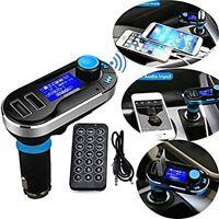 transmetteur FM USB Bluetooth sans fil kit voiture radio MP3 musique player