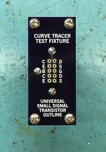 Universal Curve Tracer Test Fixture/ Adapter - Small Signal Transistor Outline