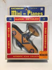 Bachman Mini-Planes #36 Boeing F4B-4 New/Old Stock in Box with Orig Price Tag