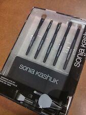 SONIA KASHUK Essential Eye Kit - 5 Brush Set + Case with Mirror SEALED