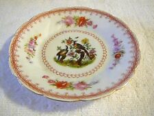 "Victoria Austria, Pheasant in a Tree 5 3/4"" Saucer Snack Plate, Excellent"