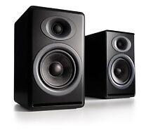Audioengine P4 Passive Bookshelf Speakers - Matte Black (Pair) with Warranty
