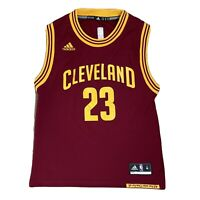 Adidas NBA Cleveland Cavaliers #23 LeBron JAMES Jersey Shirt Youth M Age 10-12