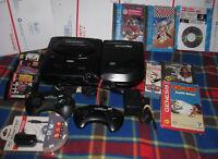++ Sega CD and Sega Genesis Model 2 System Console Bundle w/ 10 Games NBA Jam ++