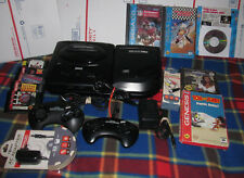 ++ Sega CD and Sega Genesis Model 2 System Console Bundle w/ 10 Games NBA Jam ++
