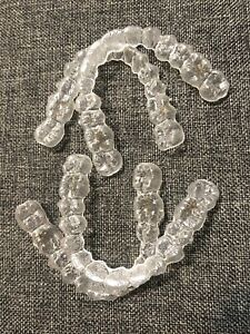 2 pairs INVISALIGN Teeth Clear Aligners  - Never Worn- Arts & Craft Project