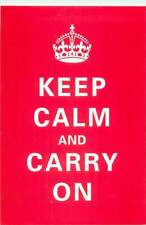 Keep Calm and Carry On poster postcard