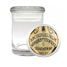 OUIJA BOARD D1 ODORLESS AIR TIGHT MEDICAL GLASS JAR CONTAINER OCCULT WITCHCRAFT
