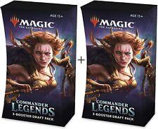 Magic The Gathering Commander Legends 3-Booster Draft Pack (2 Draft Packs)