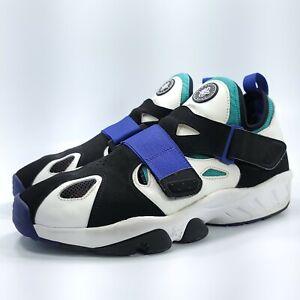 Nike Air Trainer Huarache 94 Athletic Shoe Mens Size 12 554991-100 White Black