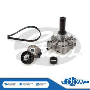 Gates Water Pump + Alternator Belt Kit Fits Iveco Daily (1999-)