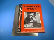 Vintage Business Week Magazine June 15th 1940 Murder In the Laboratory L575