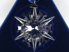 Swarovski Christmas Ornament 2002 Mib #288802