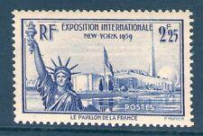 N° 426 NEUF ** SANS CHARNIERE - GOMME D'ORIGINE -EXPOSITION DE NEW YORK