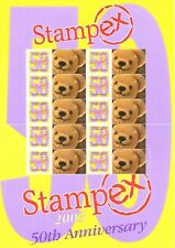Bc-011 Gb 2003 50th Anniversary Stampex Smiler sheet Unmounted Mint/Mnh