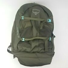Osprey Women's Fairview 40 Travel Hiking Backpack Olive Green - Excellent Shape