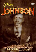 ArtsMagic PLAY Robert JOHNSON Blues GUITAR VIDEO Lessons DVD with Max Milligan