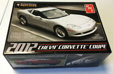 """New Amt 1:25 Scale 'Showroom Replicas' """" 2012 Chevy Corvette Coupe """" Amt-756/12"""