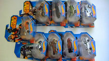 Hot Wheels Star Wars 2014 set of 9 - sealed - includes 501st Clone Trooper