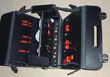 ECHT Leder Pilotenform Werkzeugkoffer Werkzeugtasche Koffer Star Werkzeug NEU