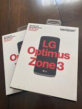 LG Optimus Zone 3 (Verizon LTE Prepaid) New/Sealed **Read Description** One