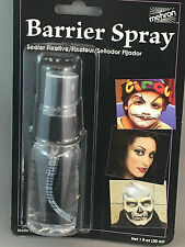 Barrier spray sealer fixative for stage makeup Mehron professional products New