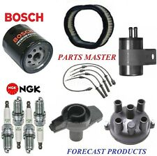 Tune Up Kit Filters Cap Spark plugs Wire For CHRYSLER DAYTONA L4; 2.5L 1988-1990