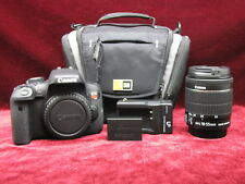 Canon EOS Rebel T6i / EOS D750 24.2MP Digital SLR Camera - Black w/ 18-55mm Lens