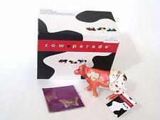 Jeweled Trinket Hinged Box - Cow Parade Moocho Amor Style 3554