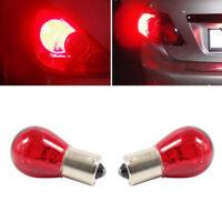 2x New Useful 12V 21W Red Auto Car Brake Stop Tail Light 1156 BAU15S Bulb Lamp